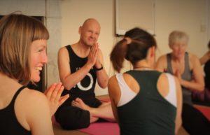 yoga class namaste daizan