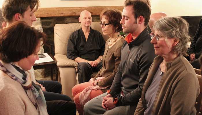 Zen meditation at Zenways