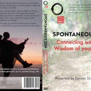 Spontaneous Zen dvd-cover