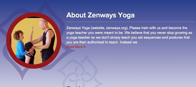 Zenways Yoga Alliance