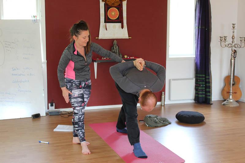 Shambala Gatherings, Sweden - yoga class