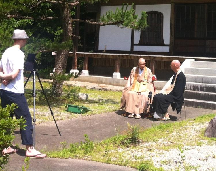 Daizan interviews Shinzan