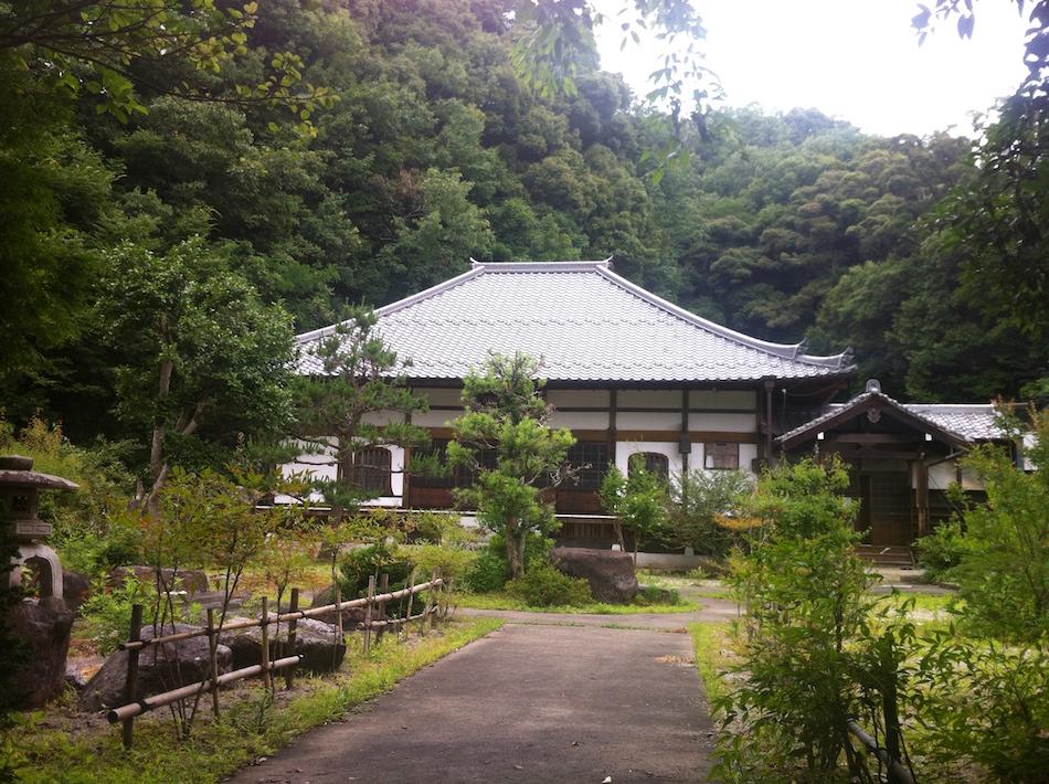 Gyokuryuji temple Japan