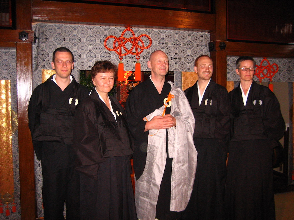 Jukai ceremony