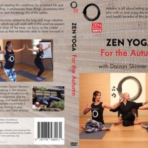Zen Yoga for Autumn DVD cover