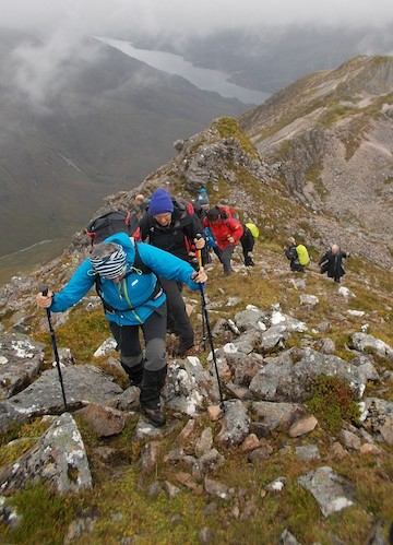 Mountain Walking retreat Glencoe