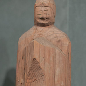 Bodhisattva carving by Enku