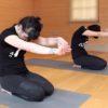 Zen Yoga posture for heart meridian
